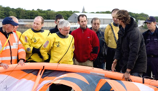Irish Kitesurfing Associationa and Howth Coast Guard undertake kitesurfing rescue exercise