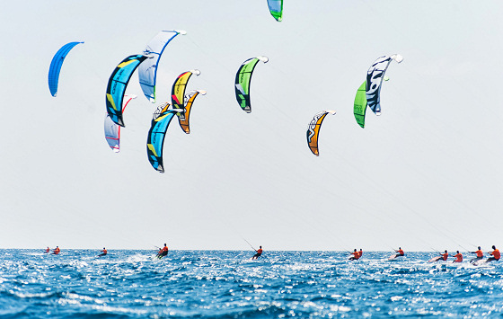 Kiteracing Oceanic Championships: action scheduled for Leighton Beach