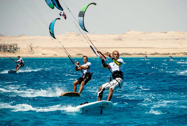 Kiteboarding: dreaming of the Olympic Games
