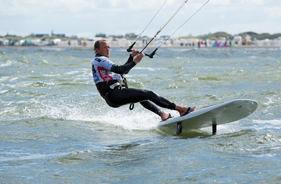 Kiteboarding: fast and furious