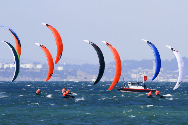 Kiteboarding: officially an Olympic sport | Photo: World Sailing
