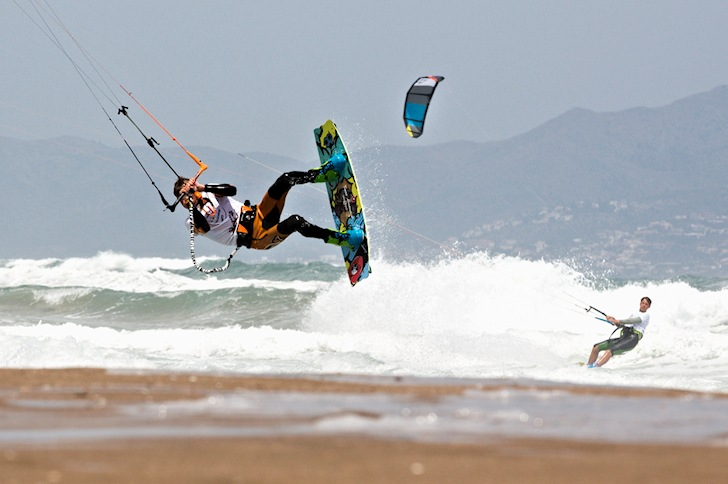 Young kite freestylers crowned in Sant Pere Pescador