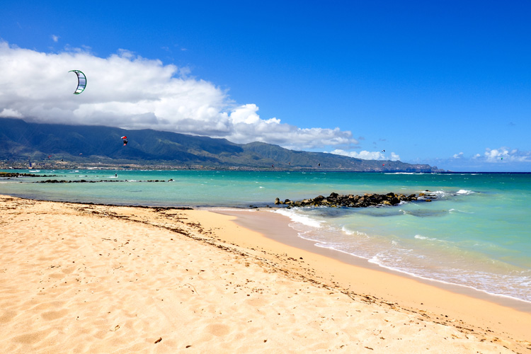 Maui: offering plenty of safe launch and land kite spots | Photo: Shutterstock