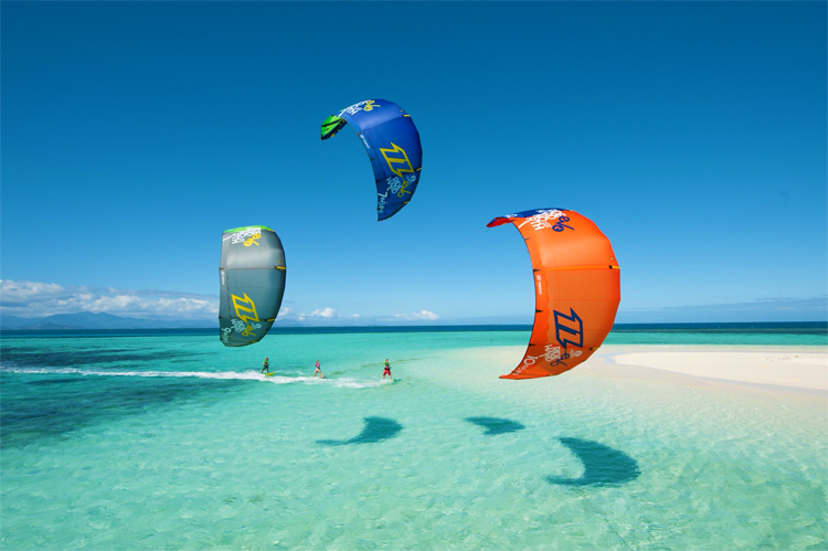 Kiteboarding: learn how to steer your kite | Photo: North Kiteboarding