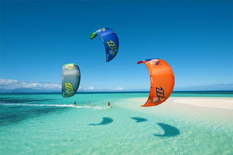Kiteboarding: learn how to steer your kite | Photo: North Kiteboarding