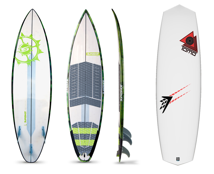 The Kitesurf Board/Wave Kiteboard