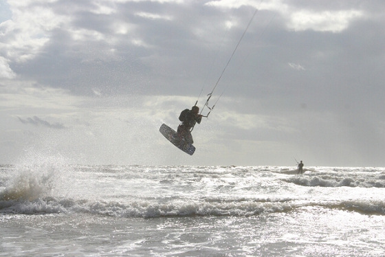 Kite Surf Irish Sea: 110 miles of dreams