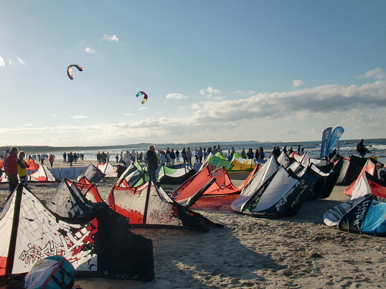 Swinoujscie: the Baltic is becoming quite popular
