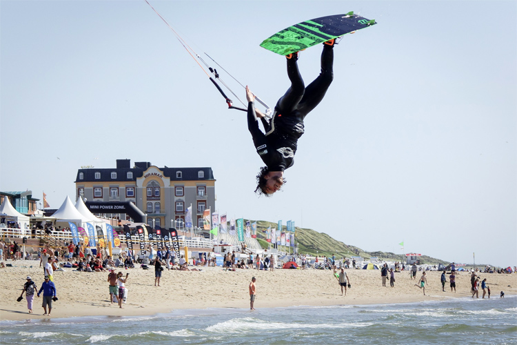 Brandenburger Strand: a famous kite spot located in Sylt | Photo: Kitesurf Cup Sylt