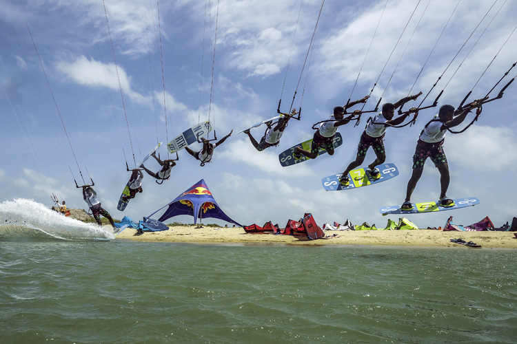 Freestyle kiteboarding: one of the most popular kite disciplines | Photo: Red Bull