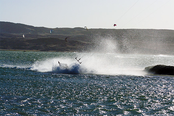 Wipe out: Luderitz is fast and furious