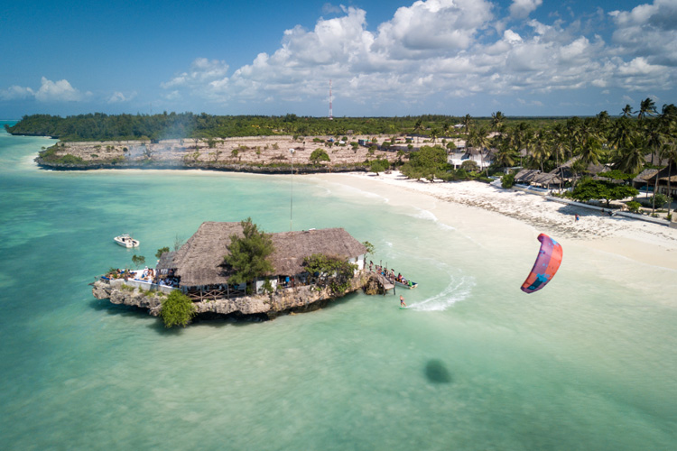 Zanzibar: a beautiful destination for kiteboarding | Photo: Laci Kobulsky