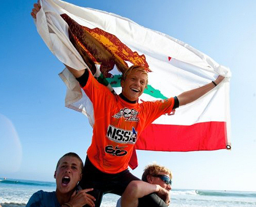 Kolohe Andino won the 2009 NSSA Open Mens title