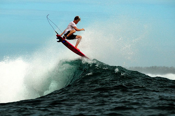 Kolohe Andino: aerial moves are dangerous
