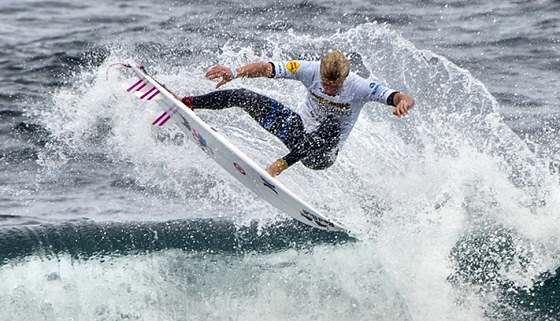 Kolohe Andino: stylish moves at Margaret River