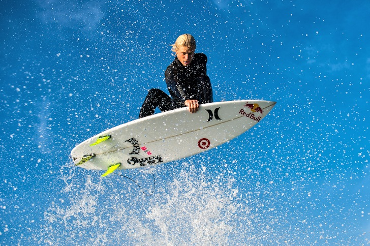 Is Red Bull taking over surfing?