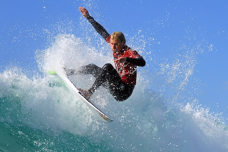 Kolohe Andino: opening the World Surf League with a win | Photo: ASP/Kurt Steinmfetz