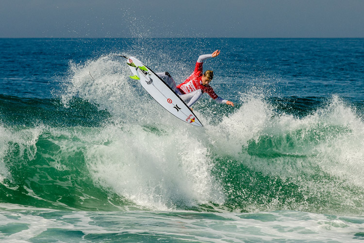 Kolohe Andino: air stylist | Photo: WSL