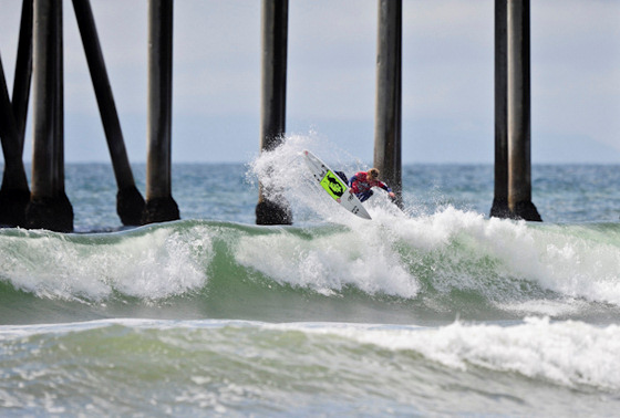 Kolohe Andino: king for a day in Huntington Beach
