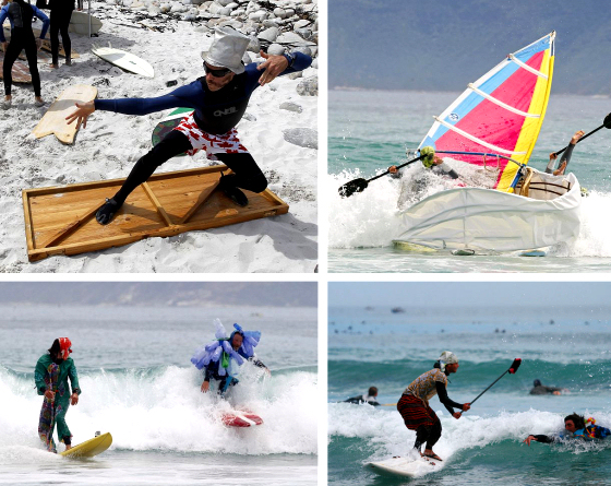 Kommetjie Festival: the Red Bull Flugtag of surfing