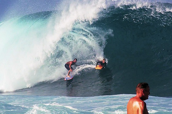 Rodrigo Koxa and Jeff Hubbard: the spirit of surfing and bodyboarding