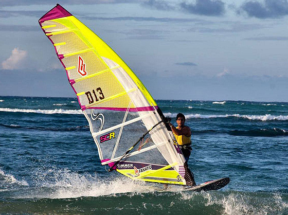 Kurosh Kiani: he loves colored sails