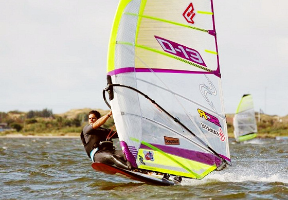 Kurosh Kiani: the best slalom windsurfer in Denmark