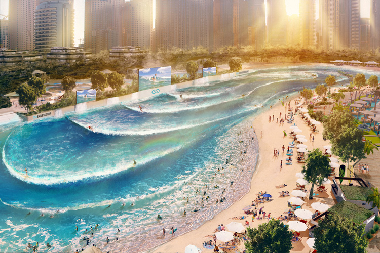 La Vague Grand Paris: the new wave pool by WhiteWater | Photo: WhiteWater