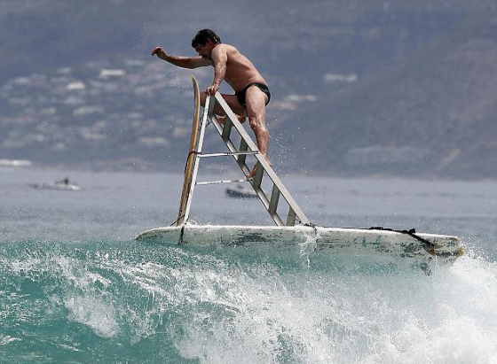 Ladder surfboard: design is performance
