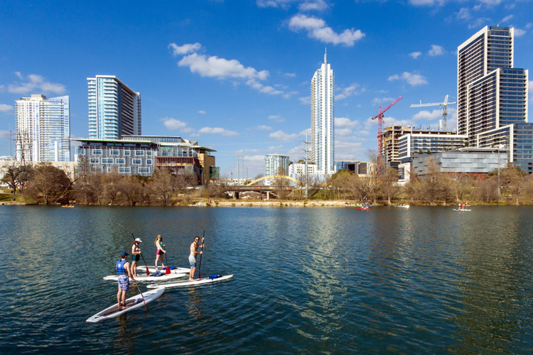 Lady Bird Lake, Austin | Photo: Creative Commons
