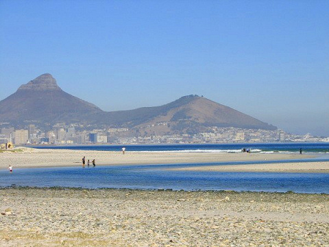 Lagoon Beach, Cape Town, South Africa