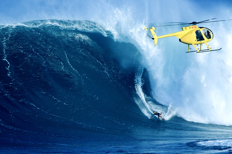 Laird Hamilton: a pioneer surfer at Jaws | Photo: Take Every Wave: The Life of Laird Hamilton