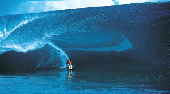 Laird Hamilton: he loved the Millennium Wave