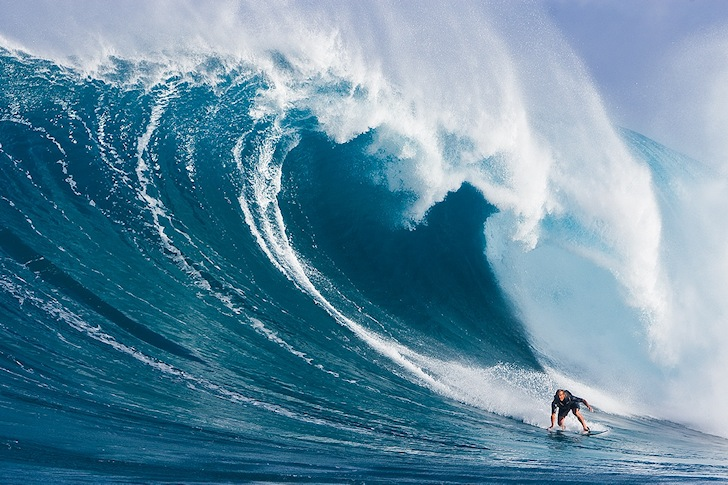 Laird Hamilton: the pioneer of professional big wave surfing