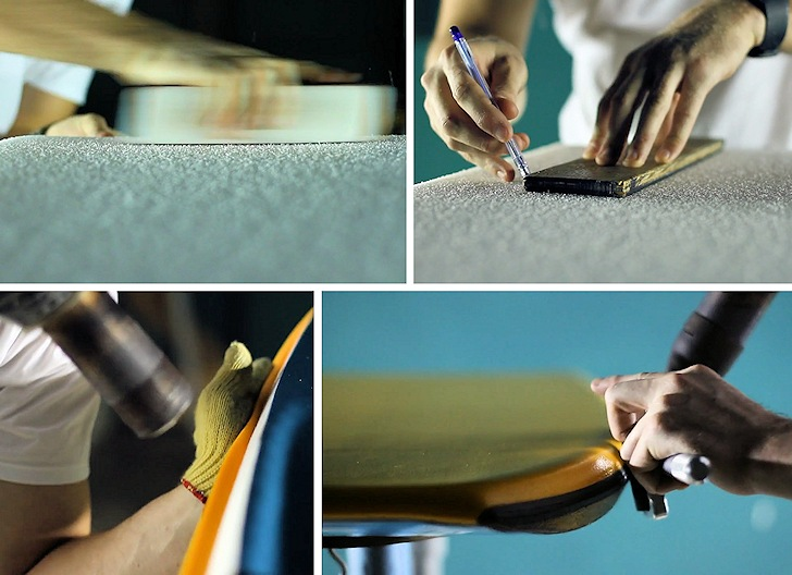 Bodyboard channels and lamination: adding perfection to the shape | Still: Pride