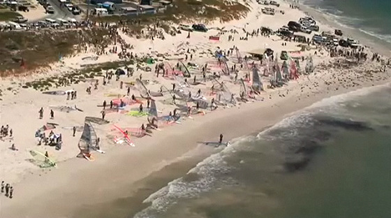 Lancelin Ocean Classic is the world's longest windsurfing race