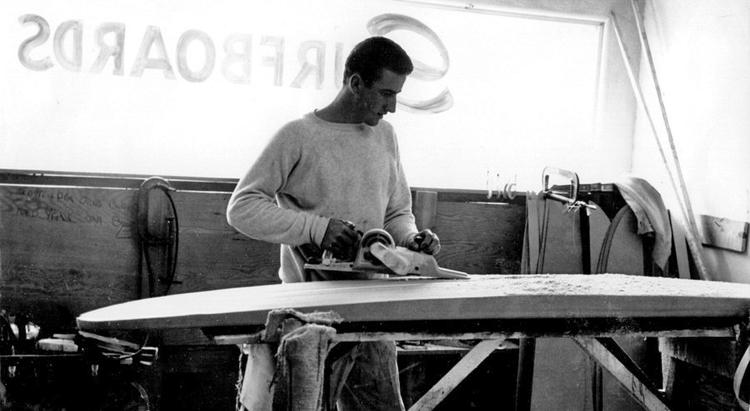 Larry Gordon: the co-founder of Gordon & Smith Surfboards