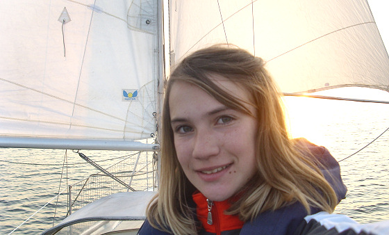 Laura Dekker: brave sailor