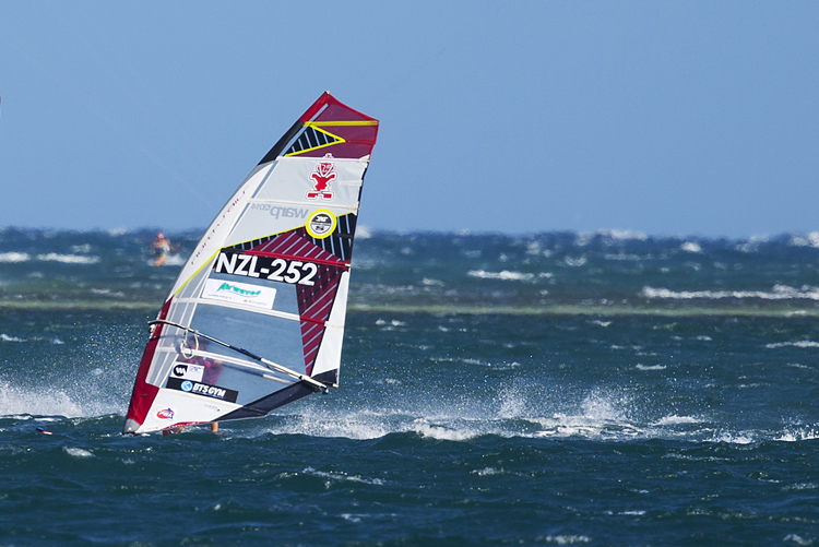 Laurence Carey: fast and ready for the 2016 PWA World Tour season | Photo: Carter/PWA