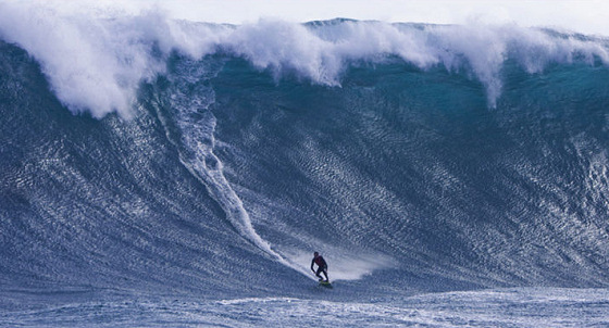 Laurie Towner: big wave rider