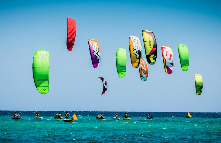 Maxime Nocher dominates the La Ventana Kite Foil Gold Cup 2014