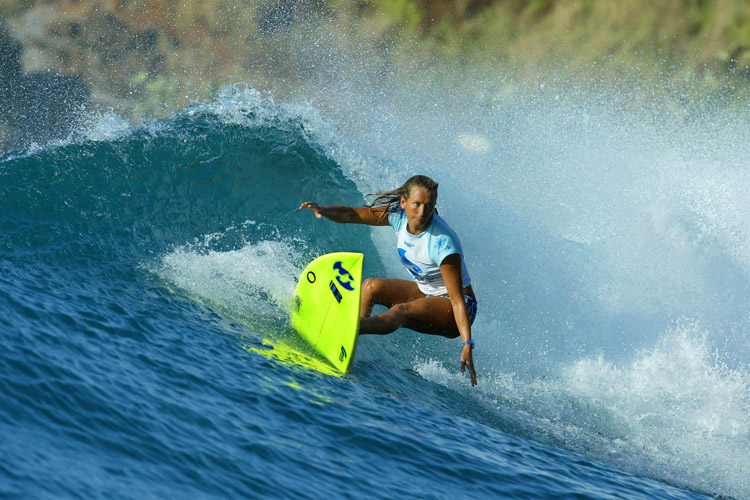 Layne Beachley: seven world titles in the bag | Photo: WSL