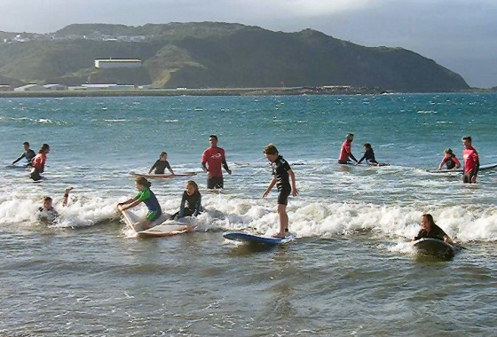 Have A Go Surfing Days: learning to surf is fun