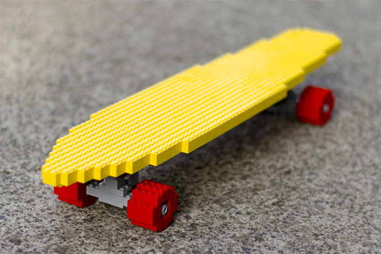 Lego Big Banana Skateboard