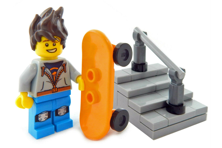Lego: discover the best skateboard-inspired designs and creations | Photo: The Brick Dude