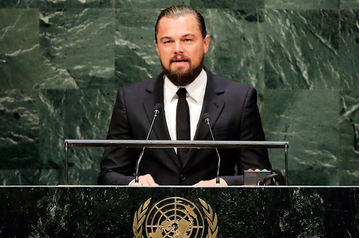 Leonardo DiCaprio: oceans will thank you