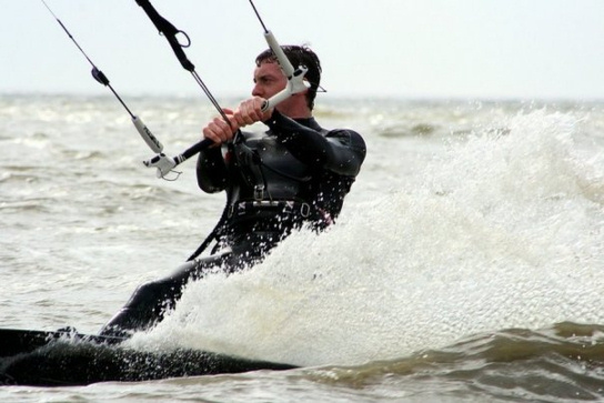 2009 Lake Pontchartrain Kiteboarder Crossing