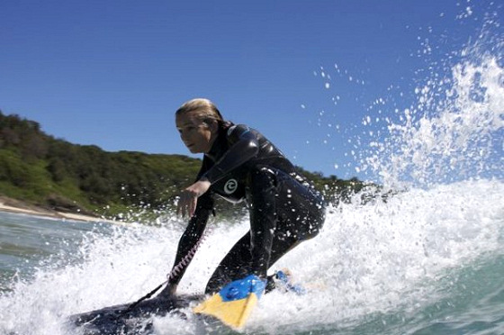 Lilly Pollard: a great bodyboard enthusiast and a winner