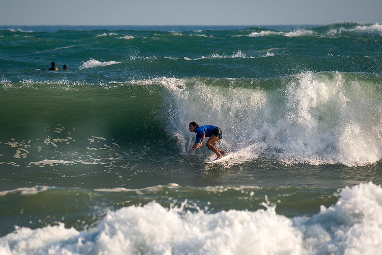 Lin Shanshan: the Chinese has already competed in the ISA World Surfing Games | Photo: ISA