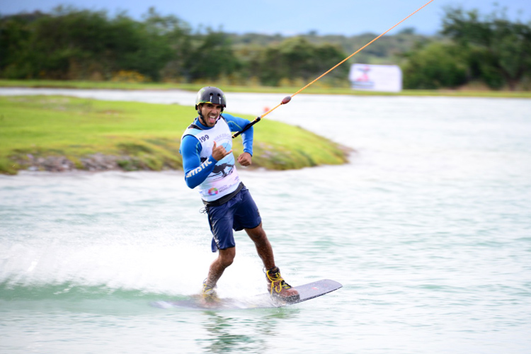 Lior Sofer and Julia Rick claim the 2016 IWWF Cable Wakeboard World Championships